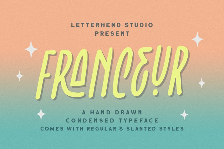 Franceur - Condensed Typeface example image 1