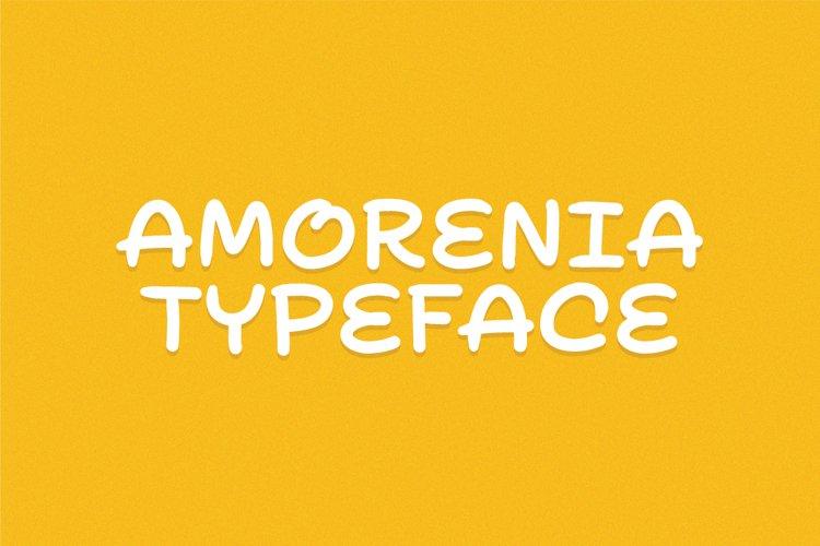 Amorenia Typeface example image 1