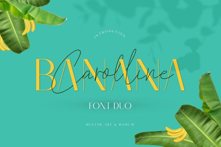 Banana Carolline example image 1
