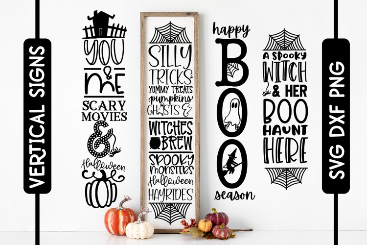 4 Porch Sign Quotes - Halloween Signs