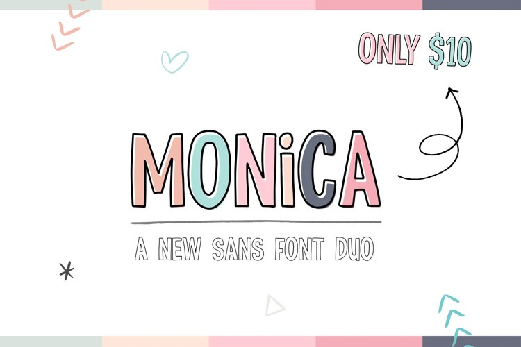 Monica Font Duo example image 1