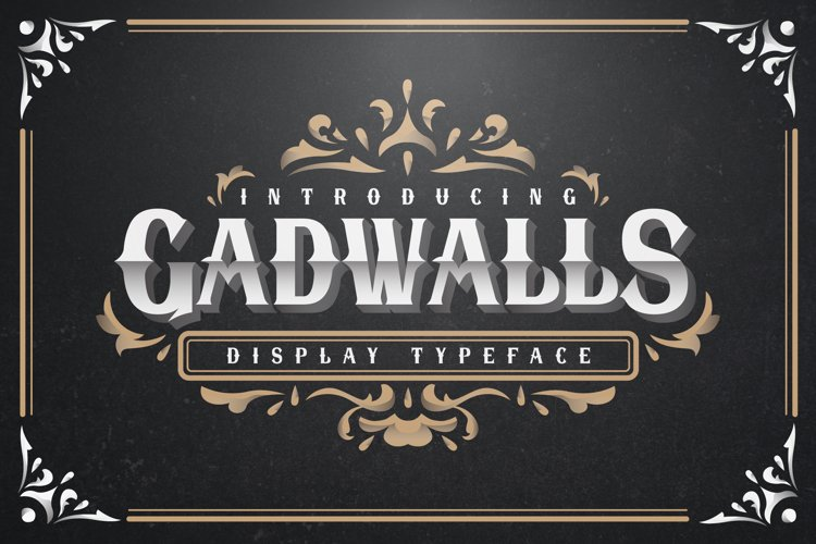 Gadwalls Typeface - Ornament example image 1