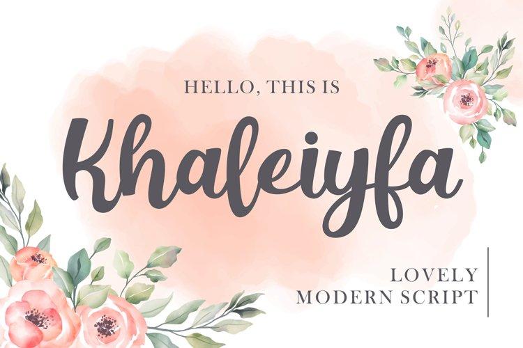 Khaleiyfa example image 1