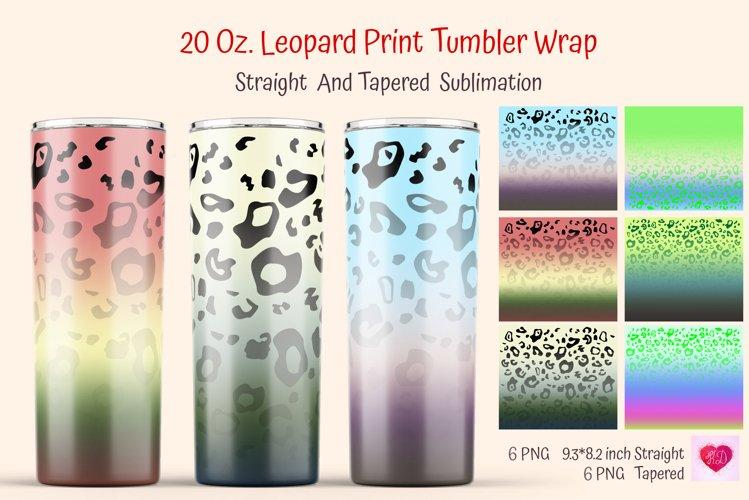Leopard tumbler,ombre tumbler,tie dye leopard,sublimated tumbler,skinny tumbler,custom tumbler,gift for teen,cute tumbler,pastel tumbler