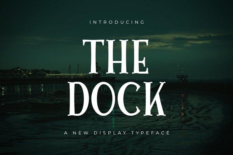 Web Font The Dock