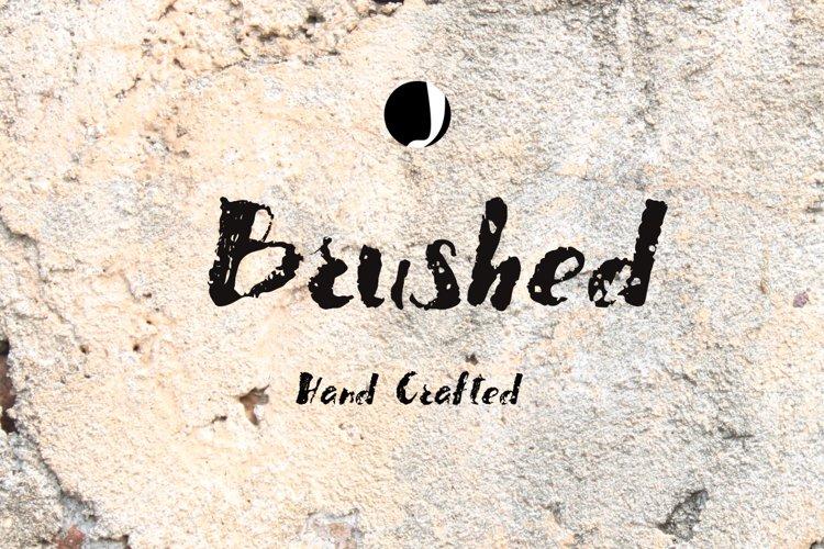 Brushed example image 1