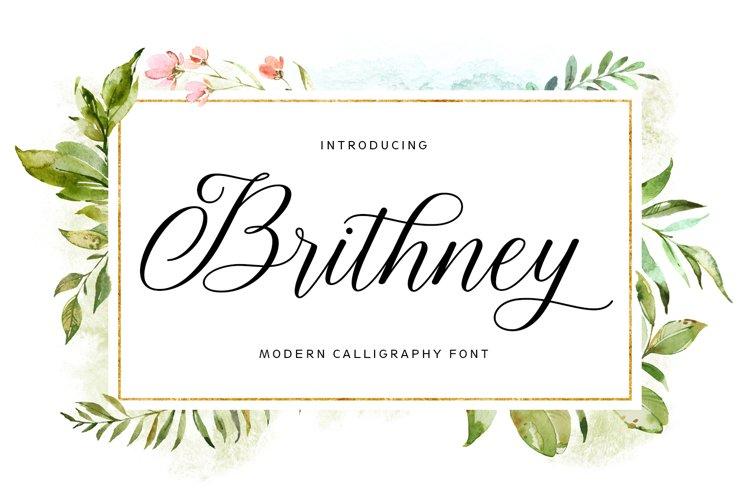 Brithney Script example image 1