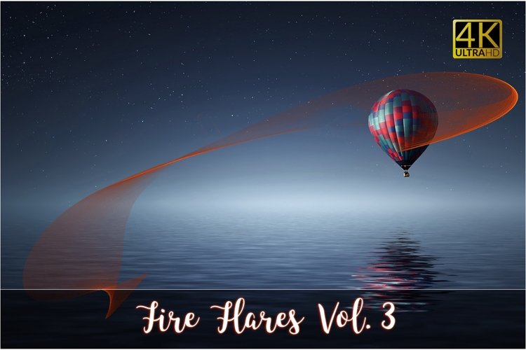4K Fire Flares Vol. 3 example image 1