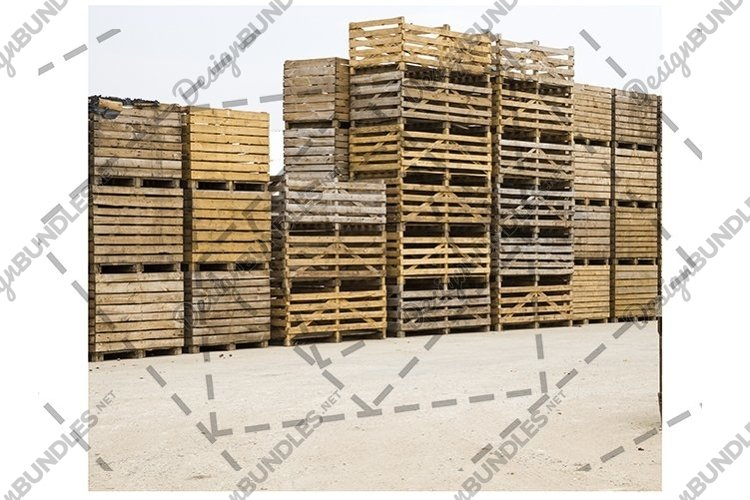 old wooden boxes example image 1