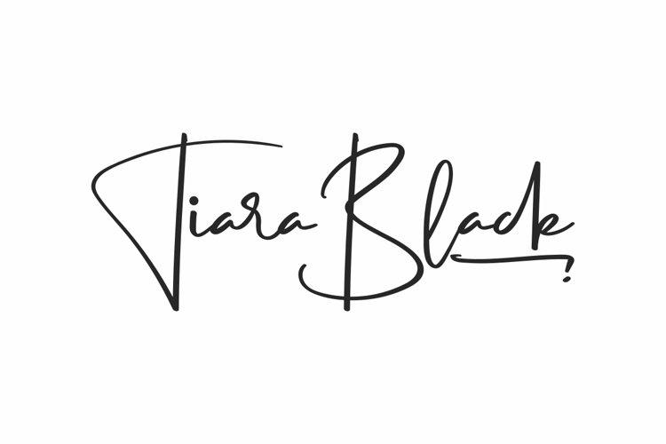 Tiara Black example image 1
