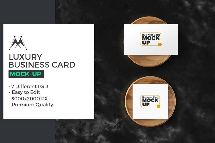 Luxury Business Card Mockup example image 1