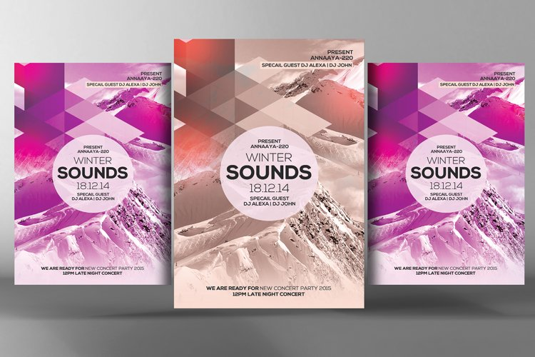 Winter Sound Flyer example image 1