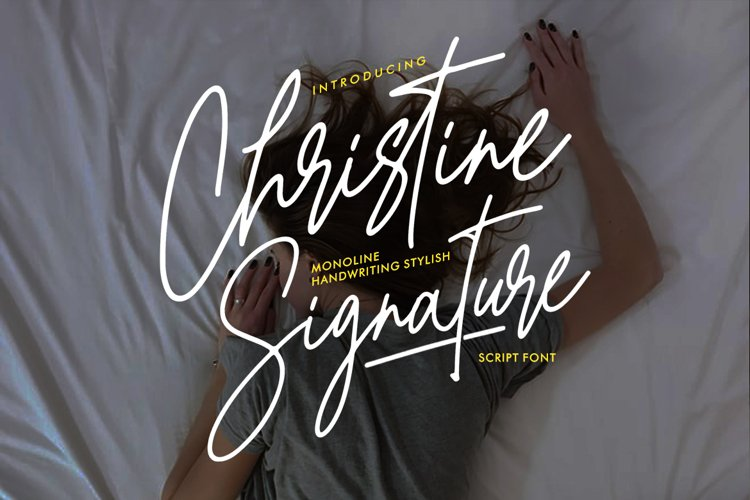 Christine Signature example image 1