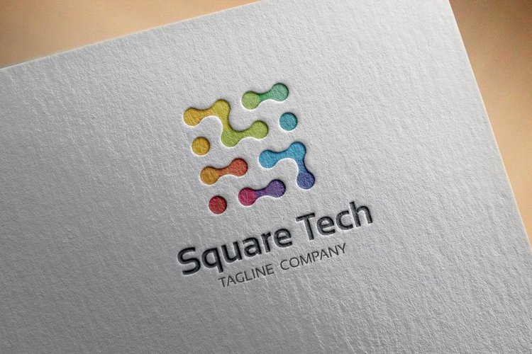 Logo Square Tech example image 1