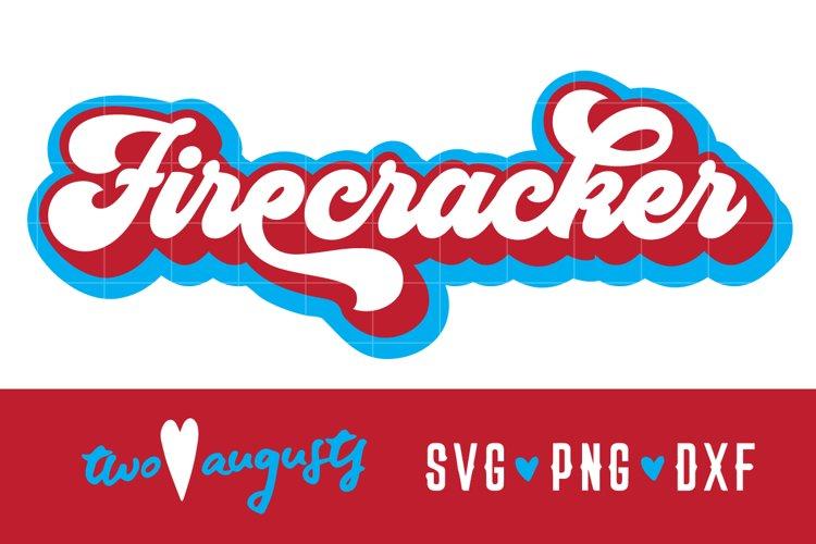 Firecracker, America, Retro, USA, American, United States, S