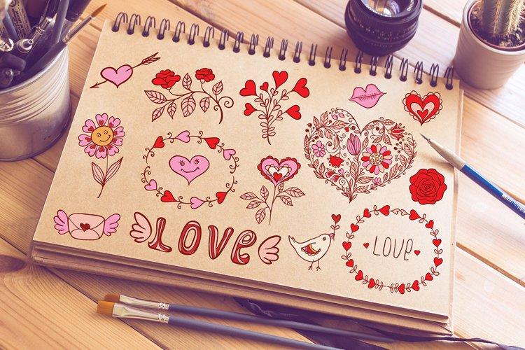 Valentine Doodles example image 1