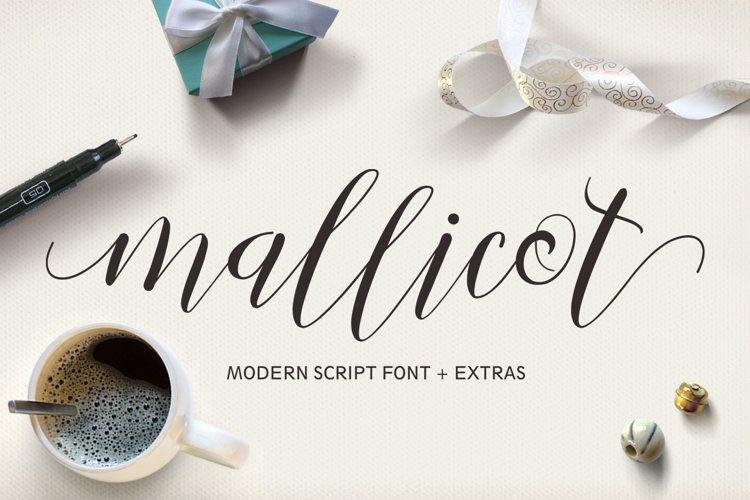 Mallicot Script example image 1