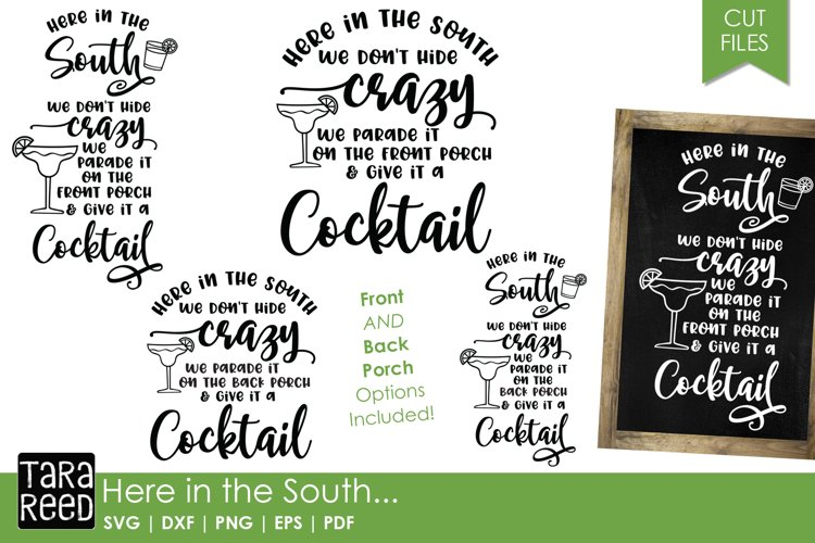 Here in the South - Southern SVG and Cut Files for Crafters