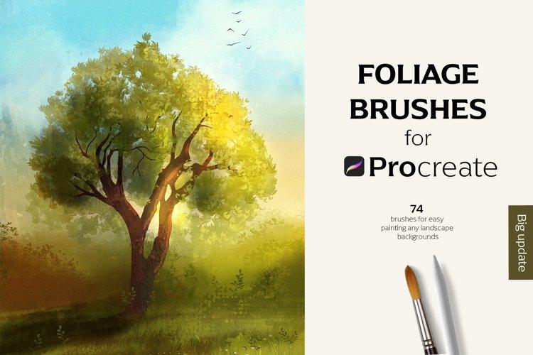 Procreate Foliage brushes