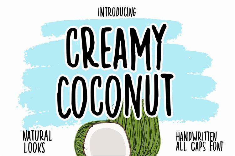 Creamy Coconut example image 1