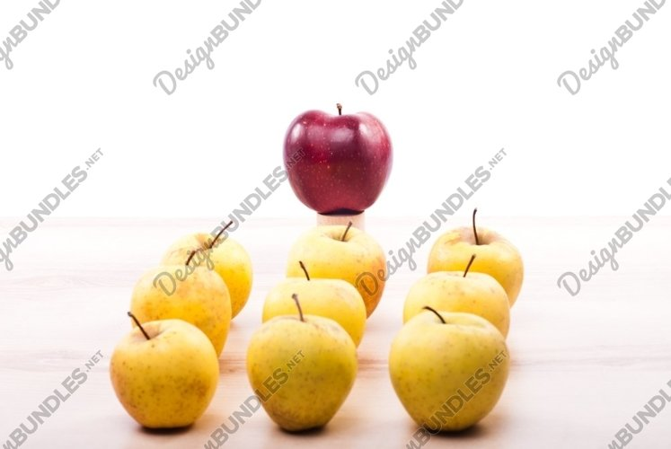 leader concept of by example apples example image 1