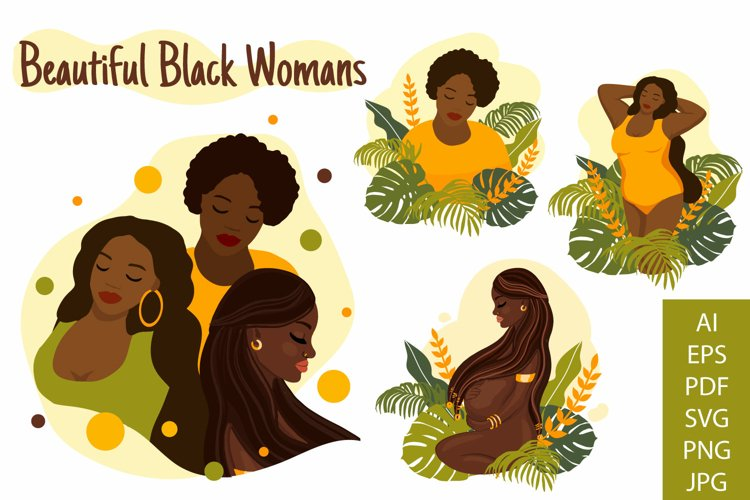 Beautiful black womans. Young african american girls.