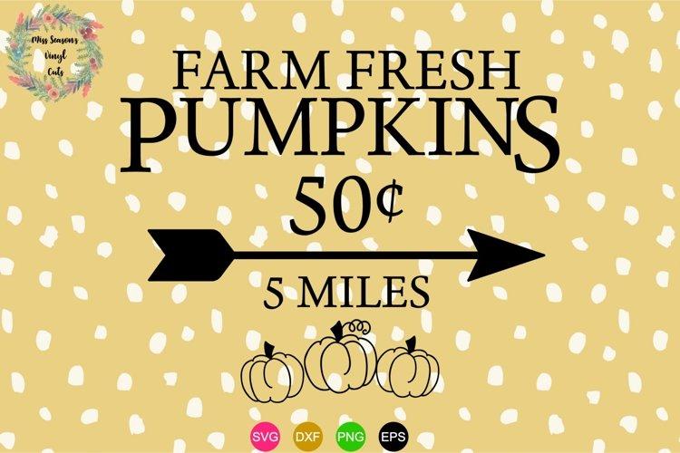 Farm Fresh Pumpkins SVG , Dxf, Eps, Png Fall