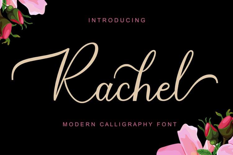 Rachel Script example image 1