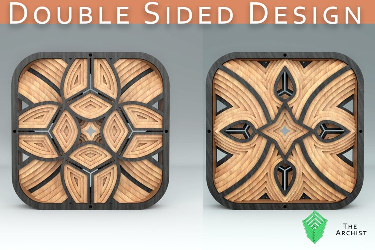 Double sided Square design example image 1