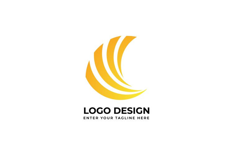 Creative abstract logo vector image for business example image 1