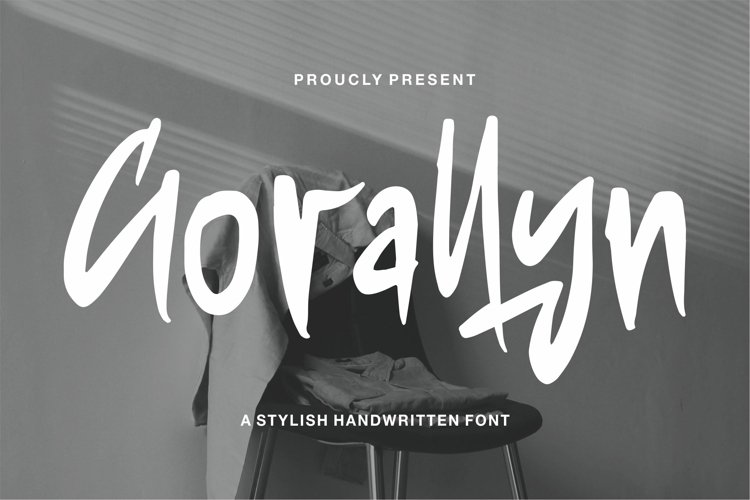 Gorallyn - A Stylish Handwritten Font example image 1