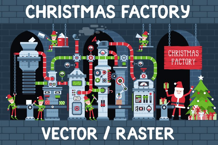 Christmas Factory example image 1