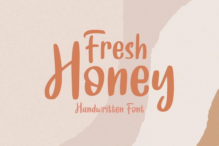 Fresh Honey || Handwritten Font example image 1