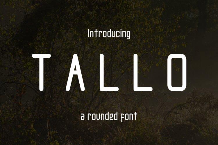 Tallo Font  example image 1