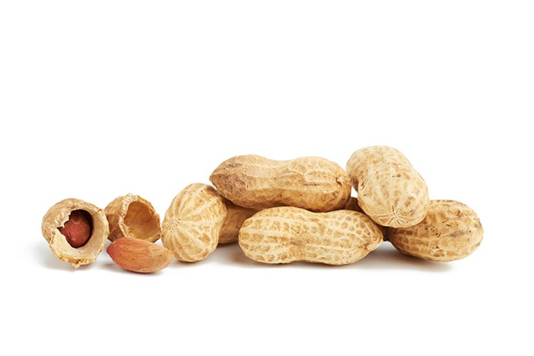 heap of peanuts in shell and broke example image 1