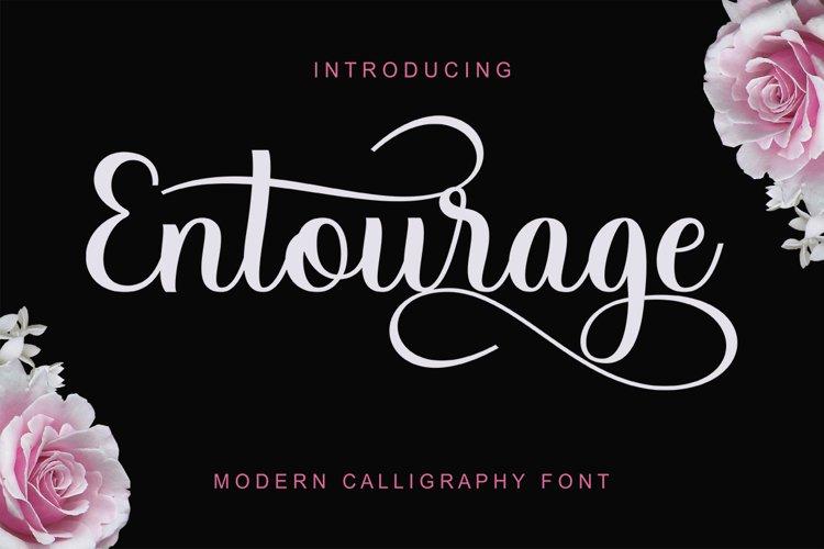 Entourage Script example image 1