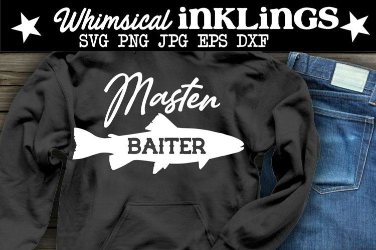 Master Baiter-Fishing SVGSVG example image 1