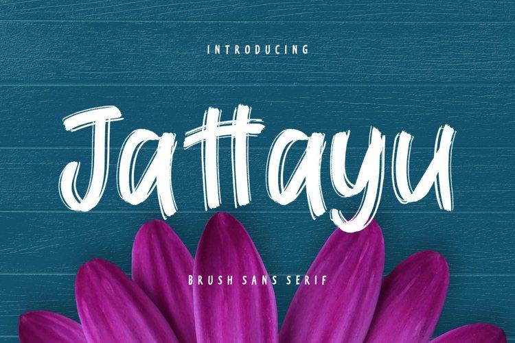 Jattayu Sans Serif Brush example image 1