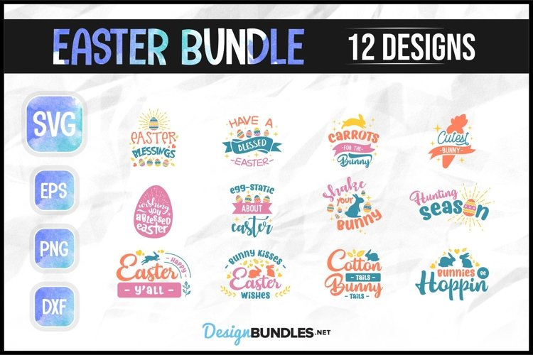 Easter SVG Bundle example