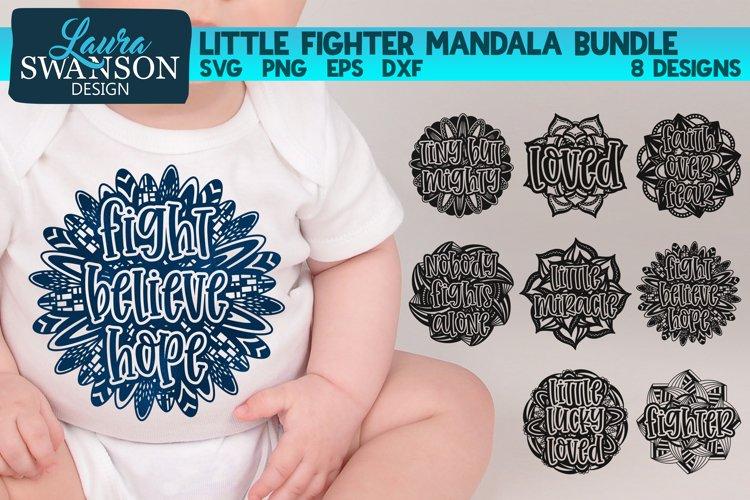 Little Fighter Mandala Bundle SVG Cut File