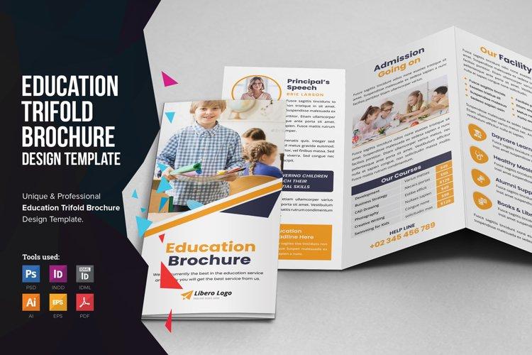 Education School Trifold Brochure v3