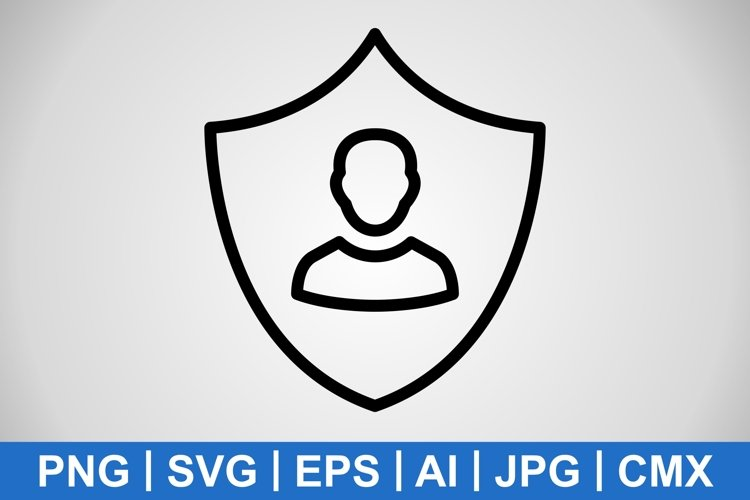 Vector Business Protection Icon example image 1