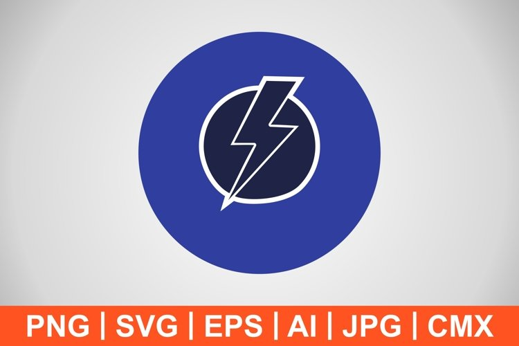 Vector Electric Shock Icon example image 1