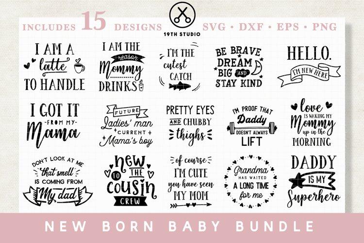 Baby SVG Bundle - MB20