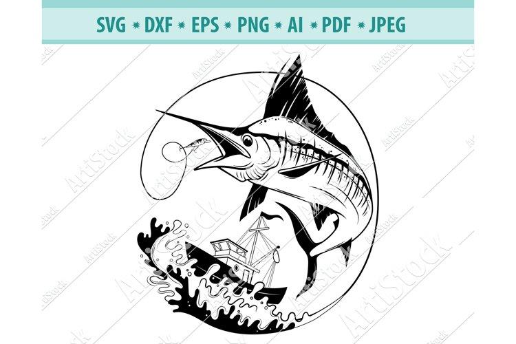 Download Marlin Svg Swordfish Fishing Svg Fishing Png Dxf Eps 684505 Cut Files Design Bundles