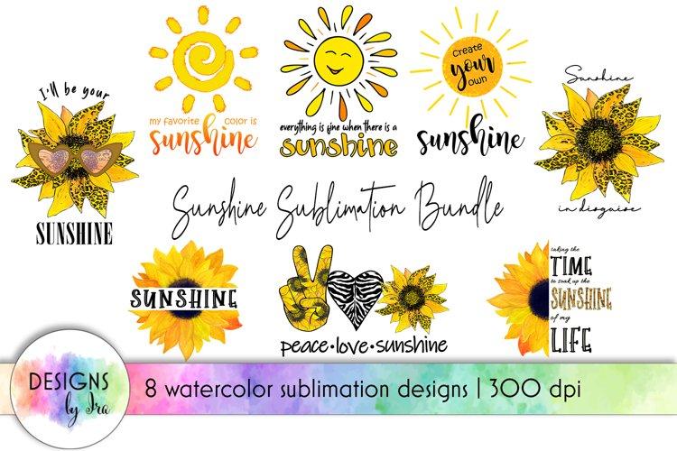 Sunshine Sublimation Bundle | Positive Quotes Sublimation
