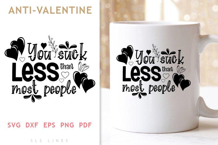 Sucky Valentines SVG - Naughty Valentine's Day example image 1