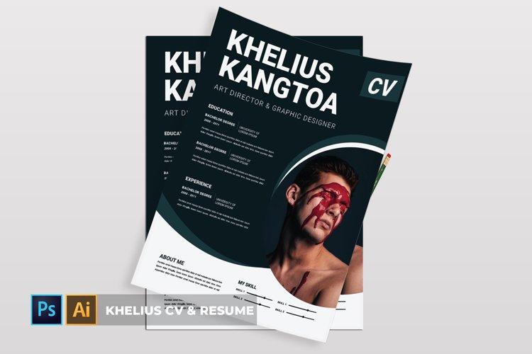 Khelius | CV & Resume example image 1