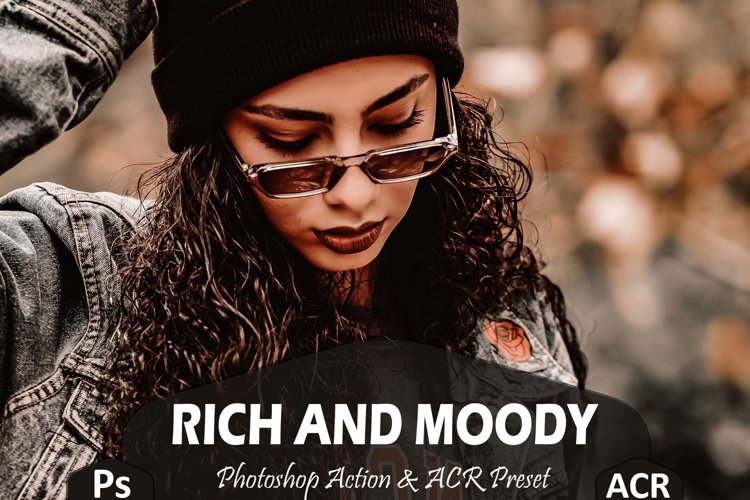 10 Rich And Moody Photoshop Actions And ACR Presets, fall Ps