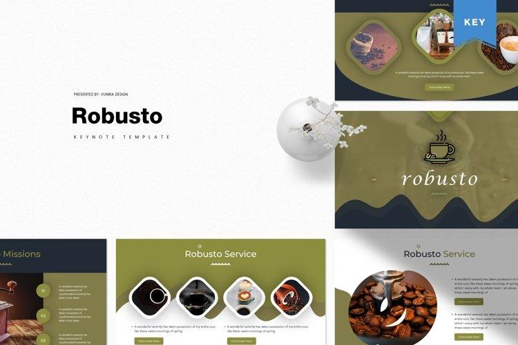 Robusto | Powerpoint, Keynote, Google Slides Template example image 1